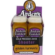 Ardens Garden Cold Pressed Shot, Golden Turmeric, Longevity