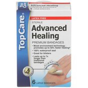 TopCare Advanced Fast Healing Hydrocolloid Gel Sterile Bandages