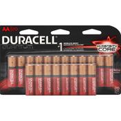 Duracell Batteries, Alkaline, Hi-Density Core, AA