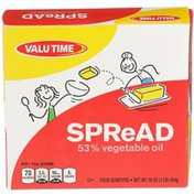 Valu Time 53% Vegetable Oil Spread
