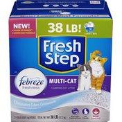 Fresh Step Multi-Cat Scented Cat Litter - 2 PK