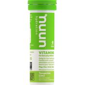 Nuun Vitamins, Tablets, Tangerine Lime