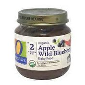 O Organics Organic Apple Wild Blueberry Baby Food