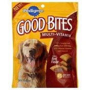 Pedigree Snack Food for Dogs, Multi-Vitamin, Savory Beef Flavor