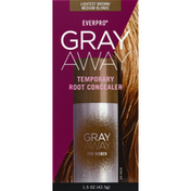 Everpro Essentials Root Concealer, Temporary, Lightest Brown, for Women