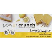 Power Crunch Protein Energy Bar, Lemon Meringue
