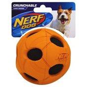 NERF DOG Toy, Crunchable, Large