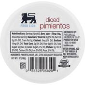 Food Lion Pimientos, Diced