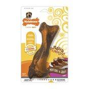 Nylabone Flavor Frenzy Rhino Meatloaf & Wolf Gravy Flavored Dog Chew Toy