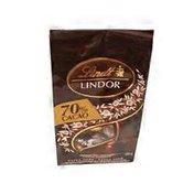 Lindt Lindor 70% Cacao Extra Dark Chocolate