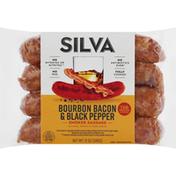 Silva Smoked Sausage, Bourbon Bacon & Black Pepper