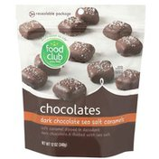 Food Club Dark Chocolate Sea Salt Caramels