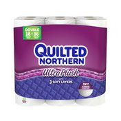 Quilted Northern 3 Ply White Ultra Plush Double Rolls Bath Tissue