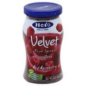 Hero Fruit Spread, Seedless, Red Raspberry