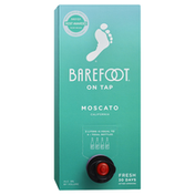 Barefoot On Tap Moscato White Wine Box Wine