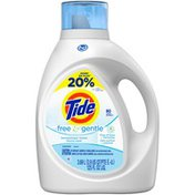 Tide Free and Gentle HE Turbo Clean Liquid Laundry Detergent