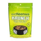 eatKeenwa Krunch Quinoa Cluster Snack Walnut Date Agave