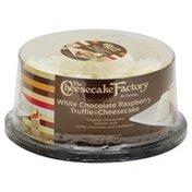 """The Cheesecake Factory White Chocolate Raspberry Truffle Cheesecake, 6"""""""