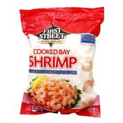First Street Bay Deveined & Tail Off Peeled Cooked Shrimp