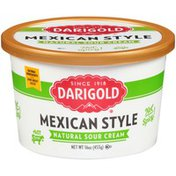 Darigold Mexican Style Natural Sour Cream