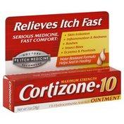 Cortizone 10 Anti-Itch Ointment, Maximum Strength