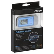 Omron Pedometer, with USB