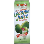 Amy & Brian Coconut Juice, with Pulp