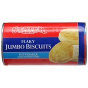 Stater Bros. Markets Buttermilk Flavored Flaky Jumbo Biscuits