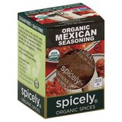 Spicely Organics Seasoning, Mexican, Organic