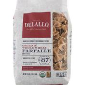 DeLallo Organic Whole Wheat Farfalle #87