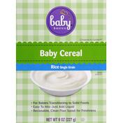 Baby Basics Baby Cereal, Rice, Single Grain