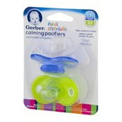 NUK Gerber First Essentials Calming Pacifiers Silicone 0-6m - 2 CT