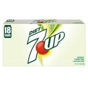 7UP Soda, Lemon Lime, Diet, 12 Pack, Box