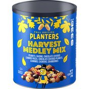 Planters Fall Edition Harvest Medley Trail Mix Snack with Peanuts, Raisins, Chocolate Pieces & Peanuts, Almonds, Cashews & Cranberries