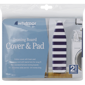 Whitmor Cover & Pad, Ironing Board