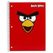 Mead Notebook, College Ruled, 80 Sheets, Angry Birds