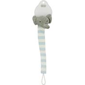 Mud Pie Pacy Clip, Blue Elephant Knit