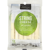 Essential Everyday String Cheese, Jalapeno