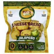Gusto Brazil Cheese Bread, Brazilian, Authentic, with Jalapeno