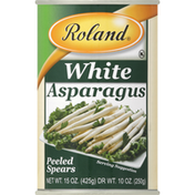 Roland Foods Asparagus, Spears, Peeled, White