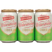Austin East Ciders Beer, Cider, Watermelon