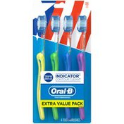 Oral-B Indicator Contour Clean Soft Toothbrush Manual Oral Care