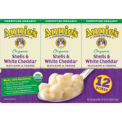 Annie's Homegrown Organic Shells and White Cheddar Macaroni and Cheese