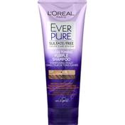 L'Oreal Purple Shampoo, Sulfate/Free, Brass Toning, Ever Pure