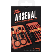 Wild Willies Grooming Kit, Ultimate, The Arsenal, 10 Pieces