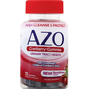 Azo Urinary Tract Health Cranberry Gummies Mixed Berry Flavor