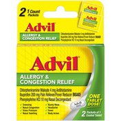 Advil Coated Tablets Advil Allergy & Congestion Relief Coated Tablets