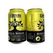 2 Towns Ciderhouse Ginja Ninja Hard Cider
