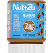 NuttZo 7 Nut & Seed Butter, Peanut Pro Crunchy