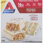Atkins Protein Meal Bar, Birthday Cake